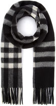 BURBERRY□定番 EMBROIDERED CASHMERE SCARF