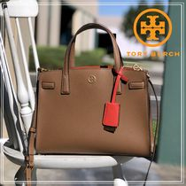 ★即発★TORY BURCH WALKER SMALL SATCHEL Moose 73625