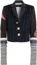DSQUARED2】20aw'COLLEGE' WOOL BLAZER