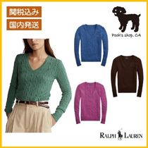 【Ralph Lauren】Cable Wool-Cashmere Sweater◆国内発送◆