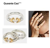 【Urbanoutfitters】Queenie Can HEART GESTURE RING☆