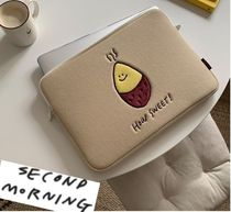 "AW 新デザイン 【韓国人気】""second morning""  13インチPC pouch"