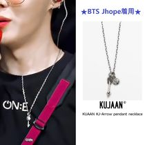 【KUJAAN】KJ - Arrow pendant necklace ★BTS Jhope着用★