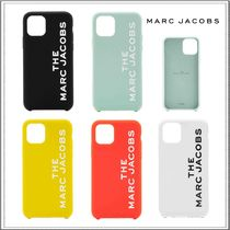 MARC JACOBS☆iPhone 11/11 Pro用 シリコン ロゴ ケース