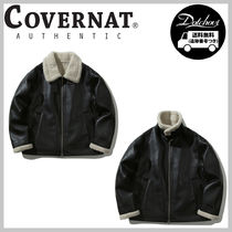 COVERNAT ECO LEATHER MUSTANG JACKET YJ641 追跡付