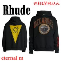 RHUDE(ルード) パーカー・フーディ サイズ限定 ★RHUDE★ University Of Oklahoma Graphic Hoodie