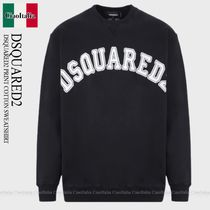 DSQUARED2 DSQUARED2 PRINT COTTON SWEATSHIRT
