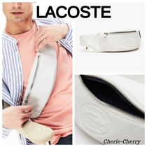 【Lacoste】Leather Fanny Pack レザー クロスボディバッグ