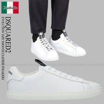 DSQUARED2 EVOLUTION TAPE SMOOTH LEATHER SNEAKERS