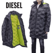DIESEL ダウンコート A01548-0LAZX_W-RUSSELL-LONG-THERMO-9XX