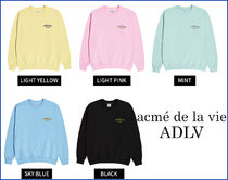 アクメドラビ★ ADLV TWO COLORS EMBROIDERY SWEAT SHIRT_5色
