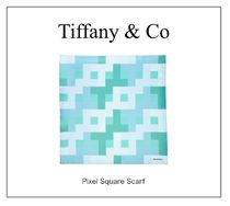 【TIFFANY】NEW! Pixel Square Scarf☆