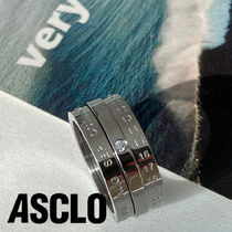 ASCLO Silver Mond Daily Ring