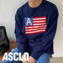 Duffle American Flag Knit (3color)