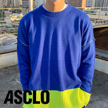 14 Neon Coloring Round Knit (4color)