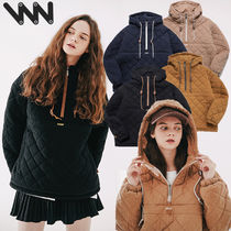 ★WV PROJECT★日本未入荷 韓国 Bumby quilted Anorak hoodie