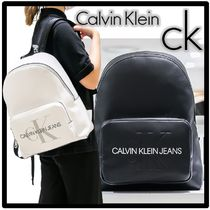 ★Calvin Klein JEANS★モノグラム バックパック★正規品★