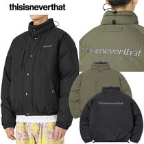 ★thisisneverthat★2020F/W新作★韓国 DSN Down Puffer Jacket