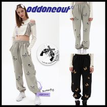 ★ODD ONE OUT★butterfly sweatpants【追跡有/関税込】
