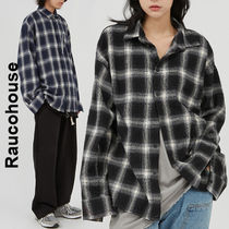Raucohouse(ラウコハウス)★ Cut-Off Check Over Shirt