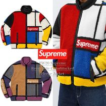 FW20 Supreme Reversible Colorblocked Fleece Jacket フリース