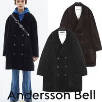 ★ANDERSSON BELL★OVERSIZED CORDUROY DOUBLE BREASTED COAT