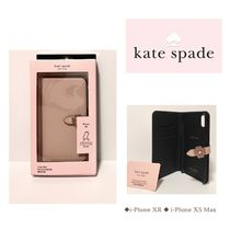kate♤spade flower wrap folio iphone 手帳型スマホケース