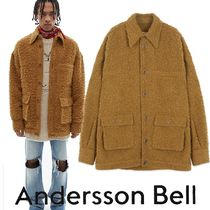 ★ANDERSSON BELL★FISHER ITALIAN WOOL JACKET awa294m(CAMEL)