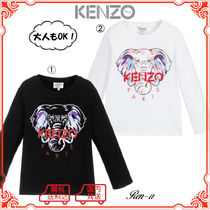 ★KENZO★大人もOK!エレファント 長袖Tシャツ /2〜14A