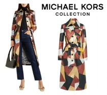 MICHAEL KORS COLLECTION☆Belted patchwork metallic leather