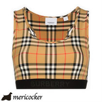 BURBERRY TOP YELLOW CHK