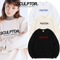 ★SCULPTOR★ Flocking Logo Sweatshirt 3色