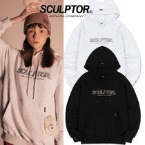 ★SCULPTOR★ 3D Embroidery Logo Hoodie 2色