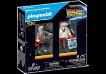 playmobil★Back to the Future Marty Mcfly & Dr. Emmett Brown