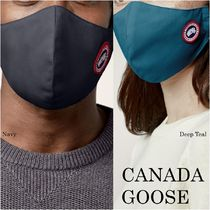 CANADA GOOSE(カナダグース) マスク 【完売間近】CANADA GOOSE*CLASSIC DISC FACE MASK*ロゴ入り♪