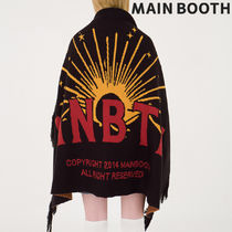 MAINBOOTH(メインブース) その他 ★MAINBOOTH★Daybreak Blanket(BLACK)★正規品/韓国直送料込