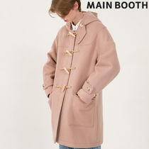★MAINBOOTH★Oversized Duffle Coat(PINK)★正規品/直送料込