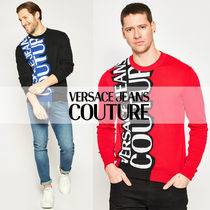 【VERSACE JEANS COUTURE】 SS20 ロゴ セーター コットン