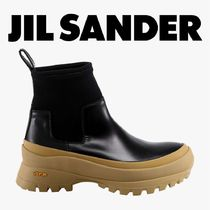 AW20/21◆JIL SANDER◆Metallized rubber ankle boots