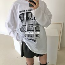 uni's room■2color ボックスプリントロングTシャツ TP-AW20-23