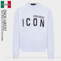 DSQUARED2 DSQUARED2 ICON COTTON SWEATSHIRT