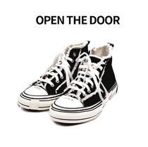 OPEN THE DOOR vintage high sneaker