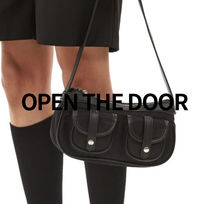OPEN THE DOOR two pocket pochette