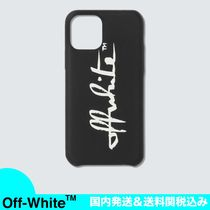 【20AW】OFF-WHITE 筆記体ロゴ iPhone 11 Pro ケース