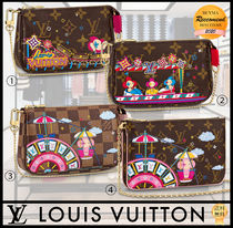 【SALE】Louis Vuitton ポーチ ポシェット クリスマス チェーン