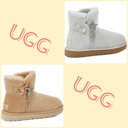 UGG ☆MINI BAILEY BOW II STAR BOOT スターデザイン 全2色