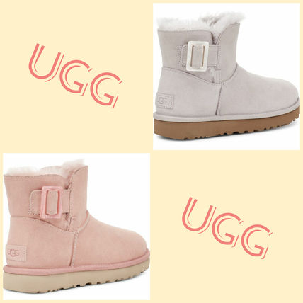 UGG ☆MINI BAILEY FASHION BUCKLE BOOT 全2色