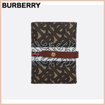 【BURBERRY】VIVIAN COATED CANVAS WALLET