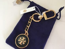 Tory Burch MERCER LEATHER KEY FOB セール 即発送