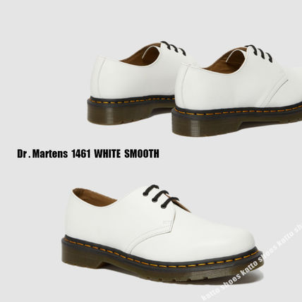 Dr Martens★1461 WHITE SMOOTH★3ホール★兼用